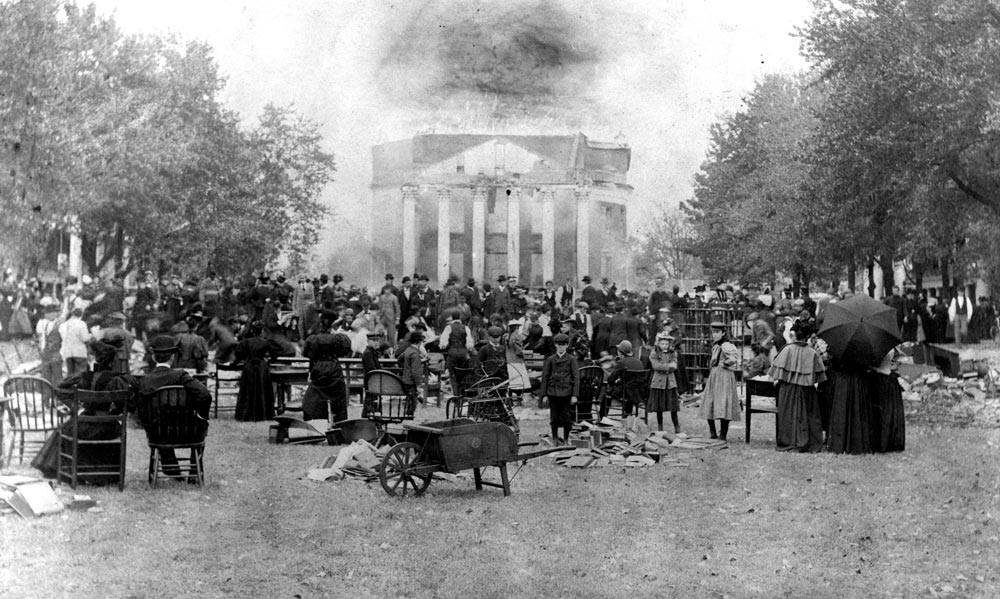 UVA-Rotunda Fire