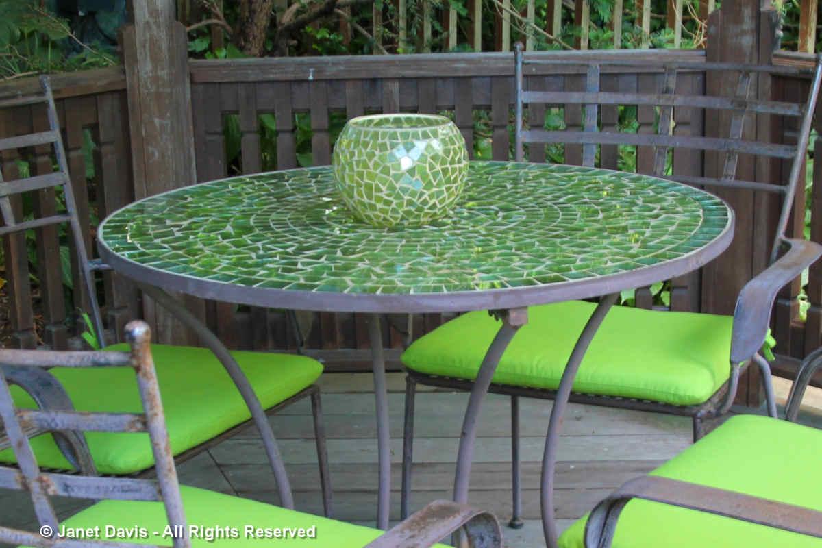 Barbara Katz-Mosaic table