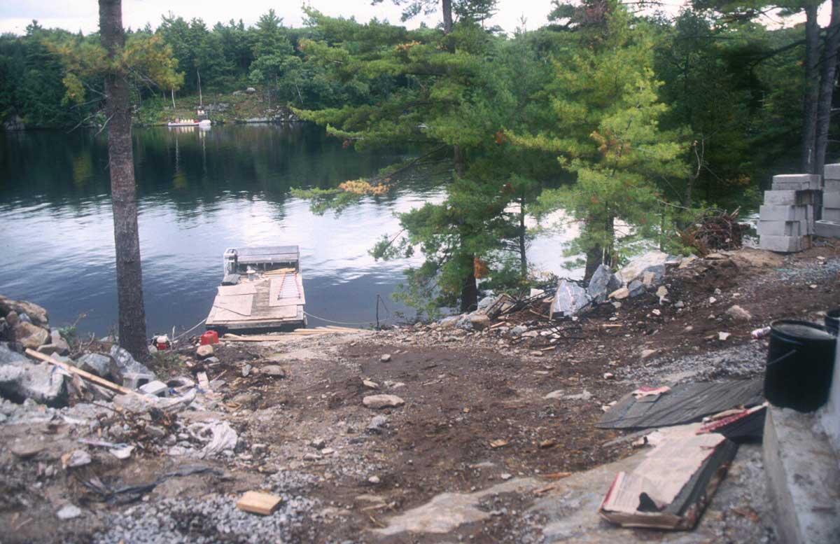 Davis Cottage-Lake Muskoka-Slope-2001