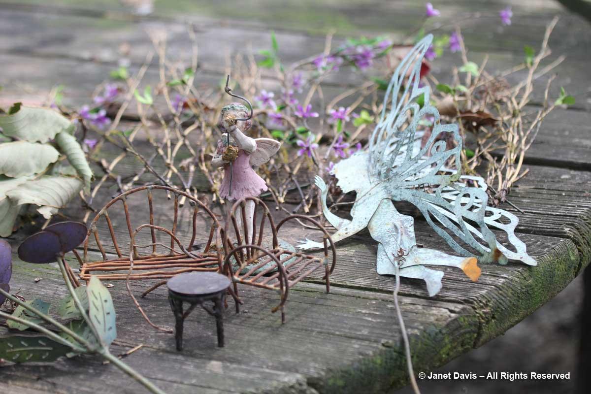 Fairies-Peg Bier garden