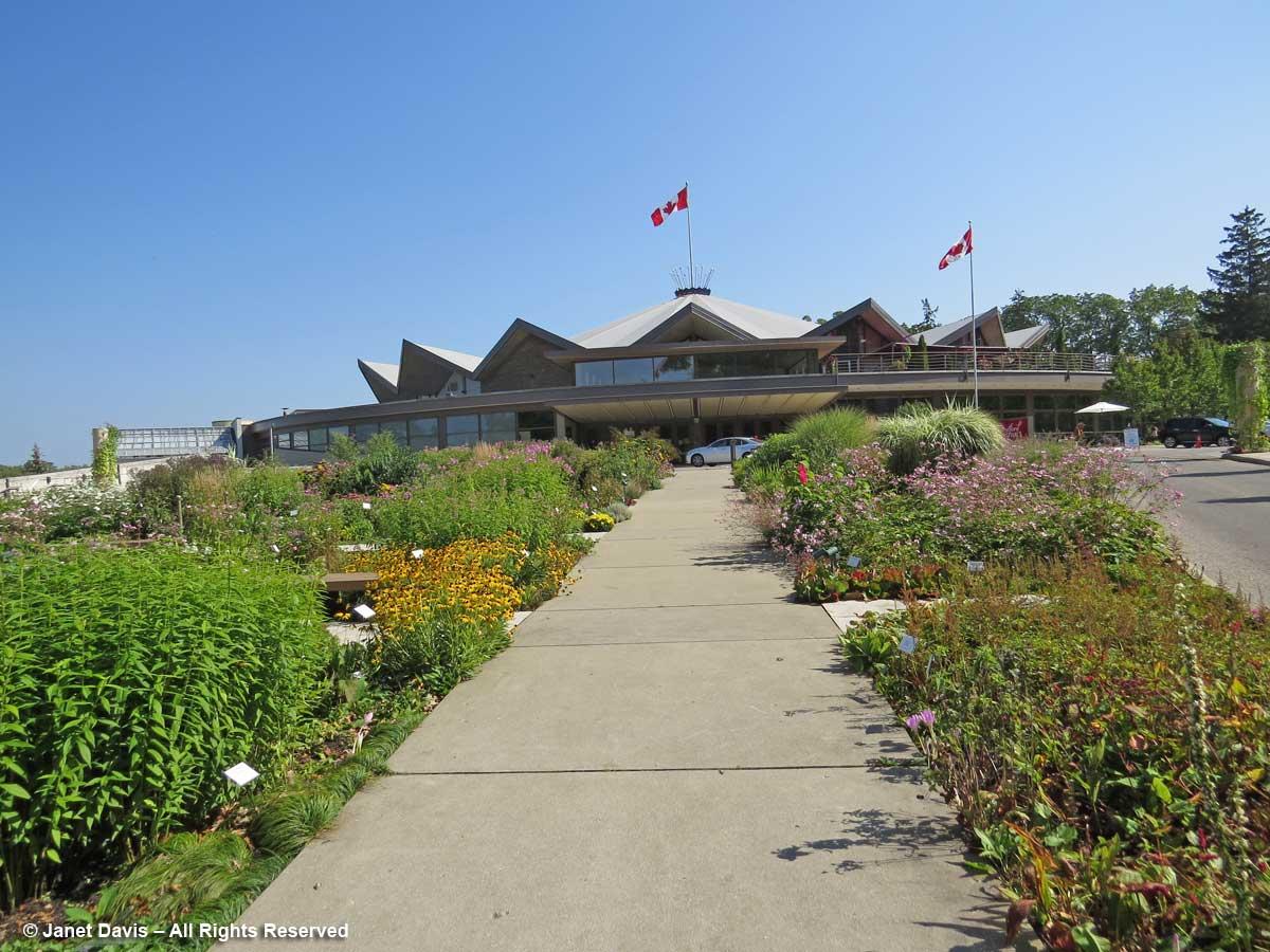 Festival Theatre Garden walkway