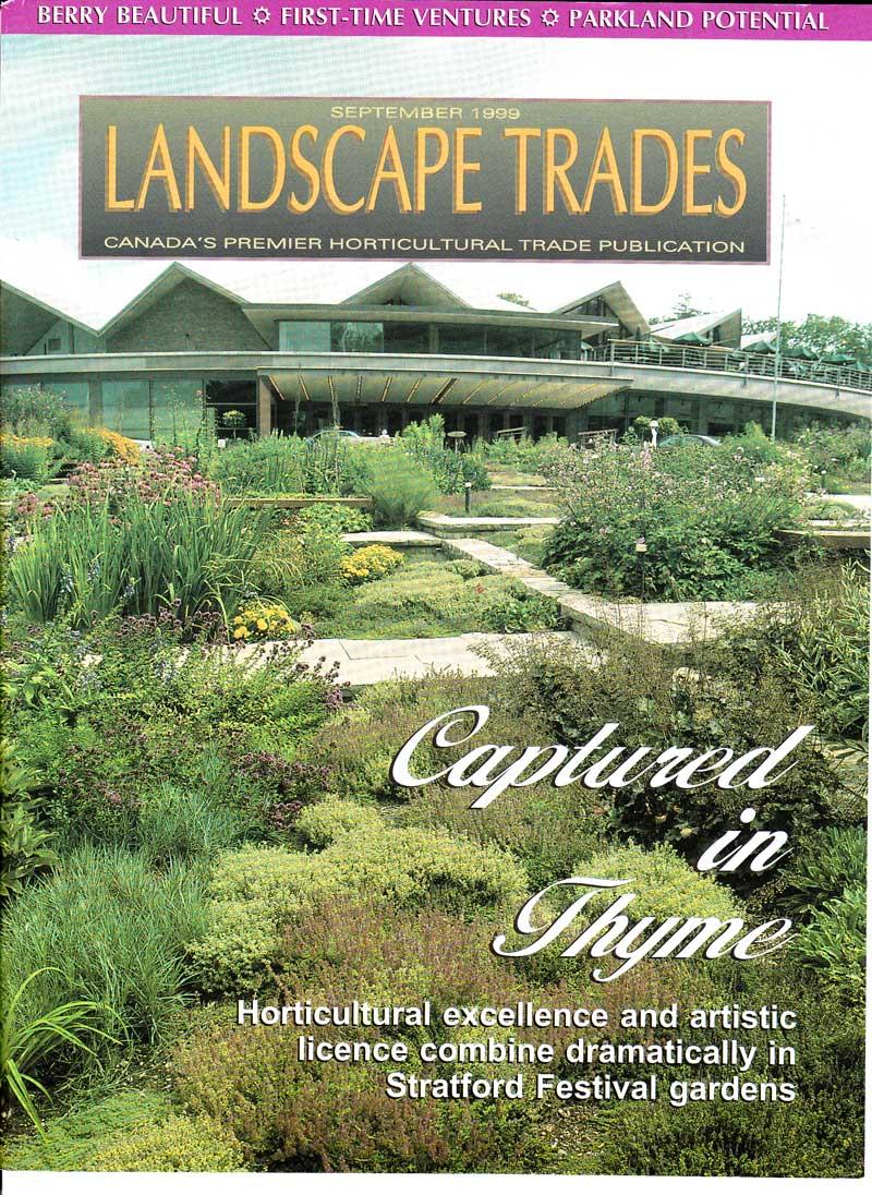 Landscape Trades-1999-Festival Theatre Garden