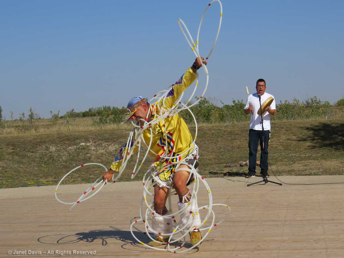 Lawrence Roy Jr-hoop dancer-Wanuskewin