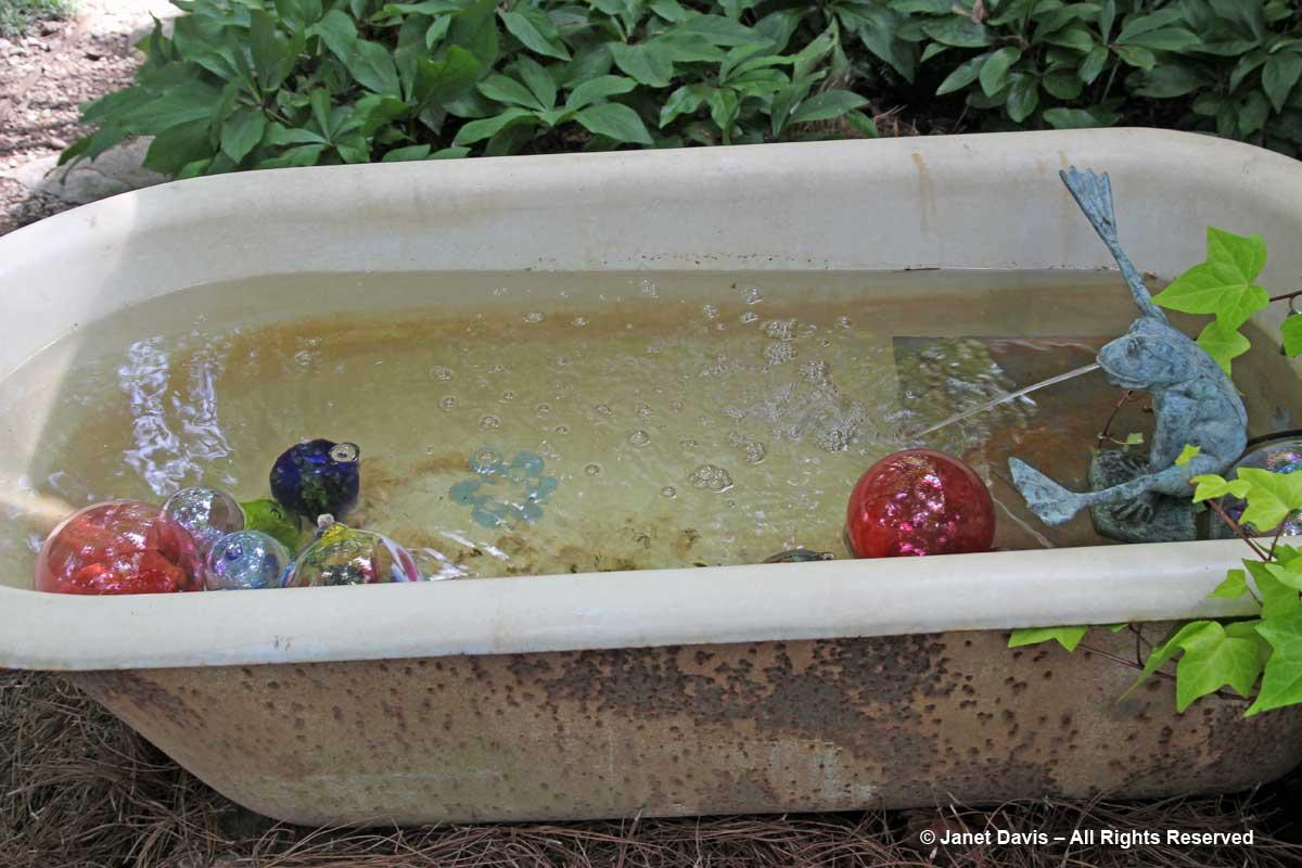 Peg Bier-Bathtub Fountain