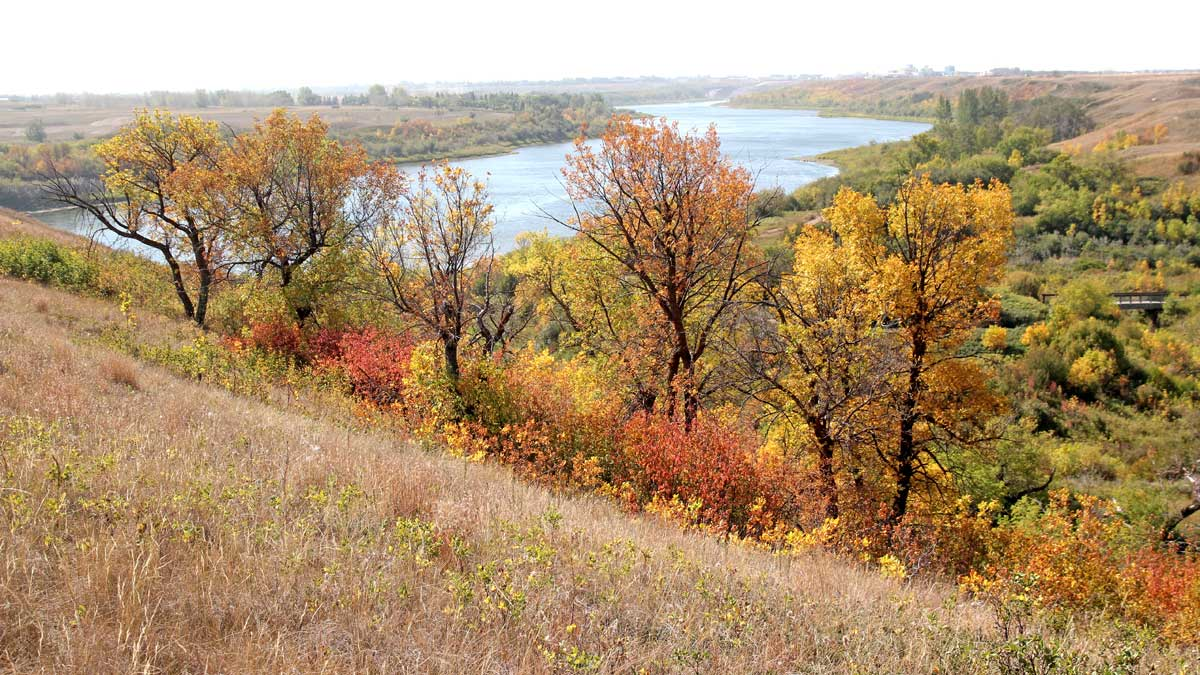 South Saskatchewan-River view-Wanuskewin