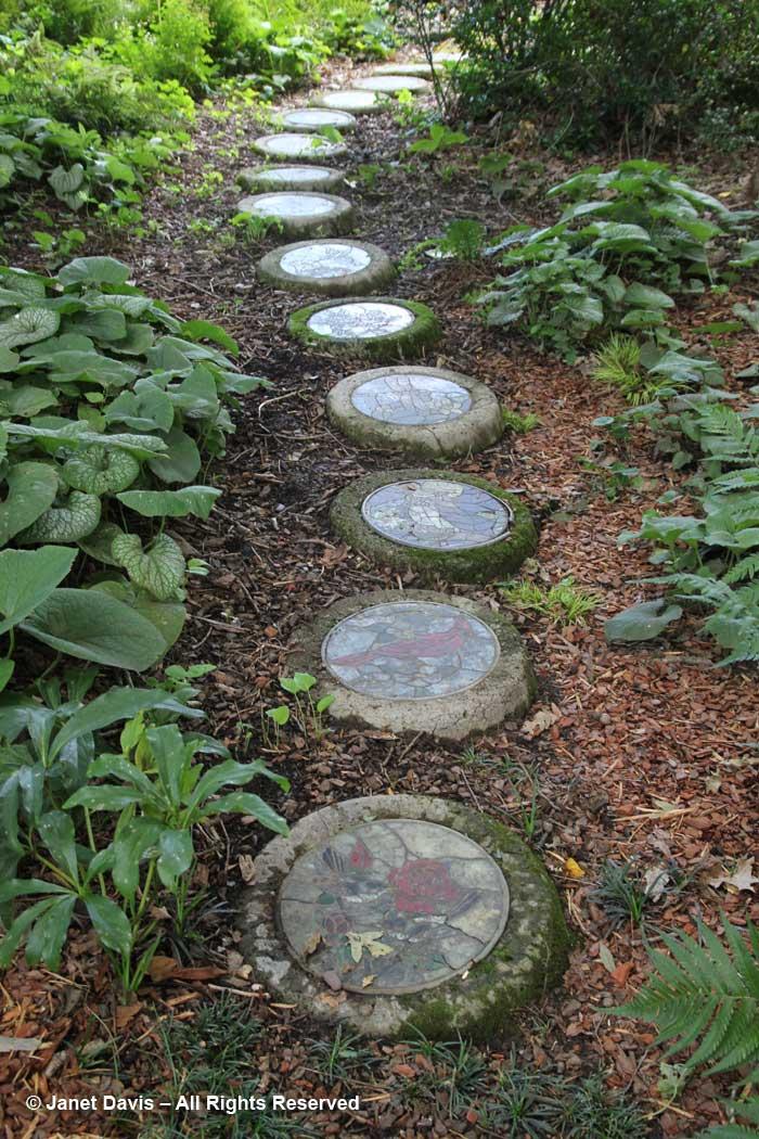 Stepping stone path-Peg Bie