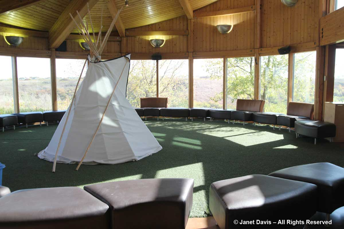 Tipi-Wanuskewin Visitors Centre