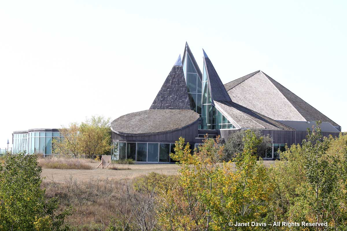 Wanuskewin-Visitors' Centre-Roof peaks