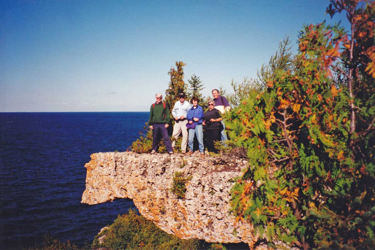 1994-Lion's Head-limestone cliffs