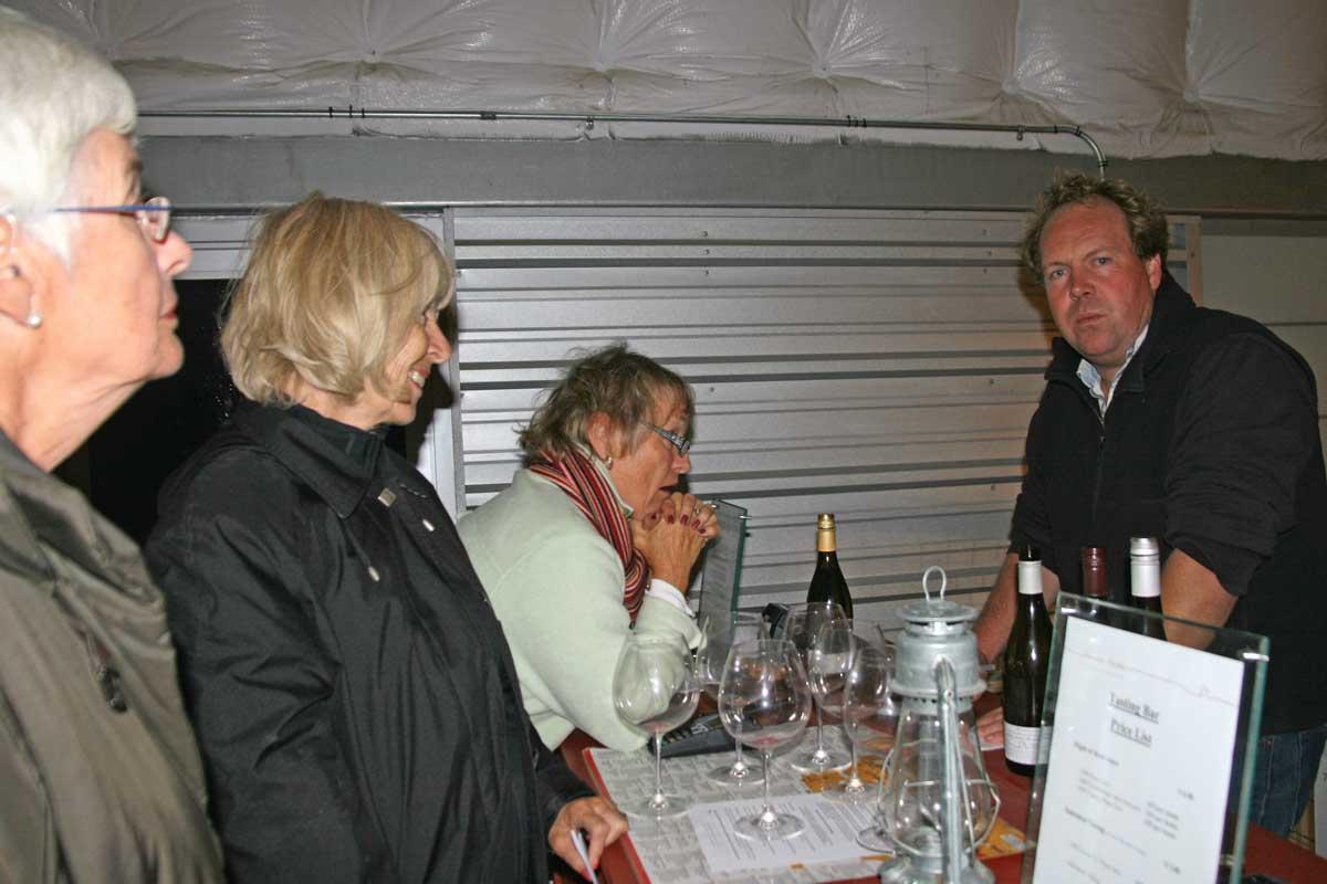 2009-Norman Hardie-Wine-tasting
