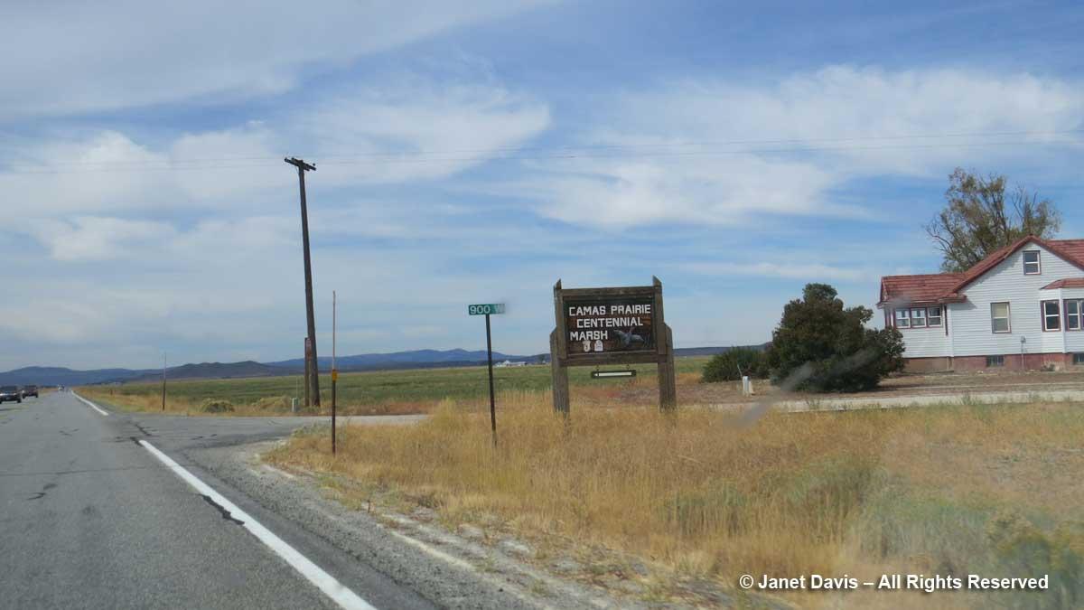 Camas Prairie-Centennial Marsh