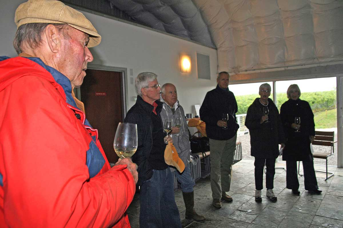 2009-Wine-Tasting-Norman Hardie Wines