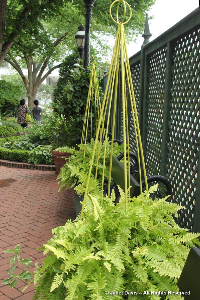 Benches & Obelisks- Ripley Garden
