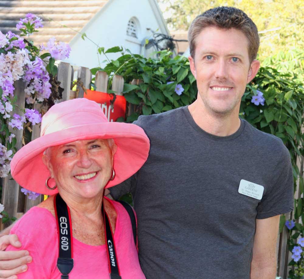 Shawn McCourt & Janet Davis-Marie Selby Botanical Garden
