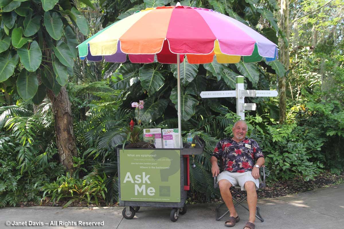 Volunteer-Marie Selby Botanical Gardens | Janet Davis