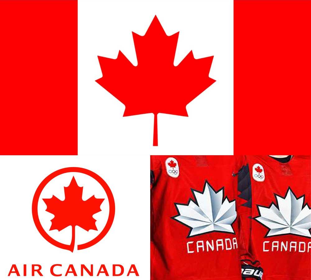 Canada-Maple leaf motif