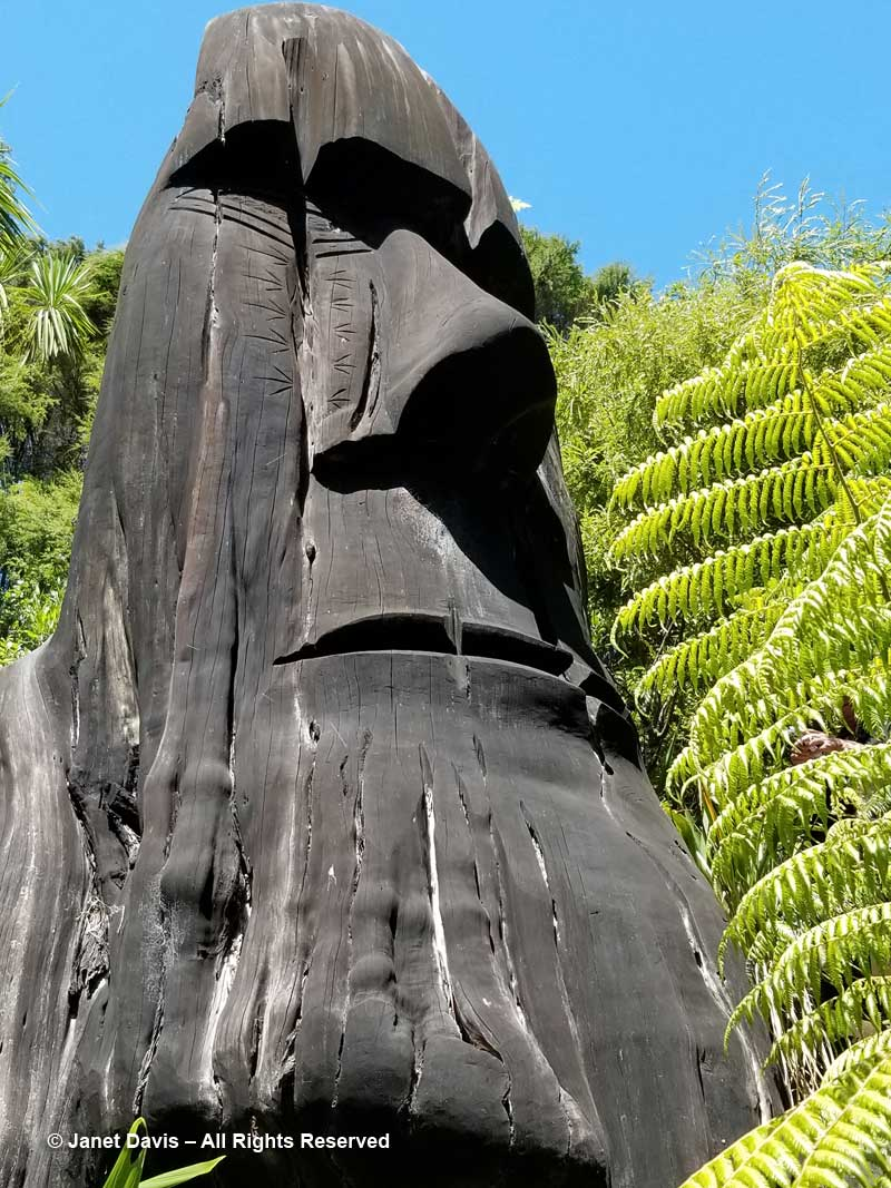 Guardian of the Planting-Fatu Feu'u-Connells Bay Sculpture Park