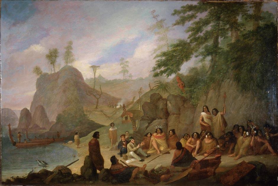 Hongi Hika- 1827-Augustus Earle