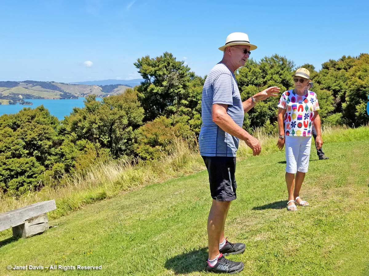John and Jo Gow-Connells Bay Sculpture Park