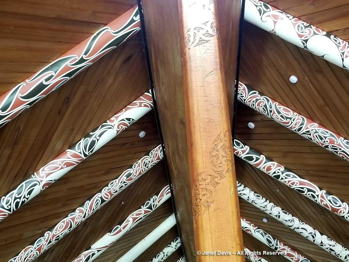 Koru motif-Maori-marae-Bay of Islands