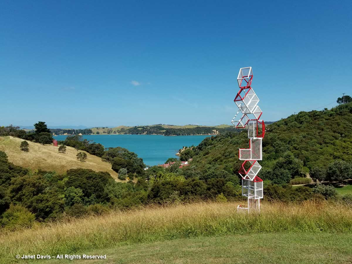 Other People's Houses-Neil Dawson-Connells Bay Sculpture Park