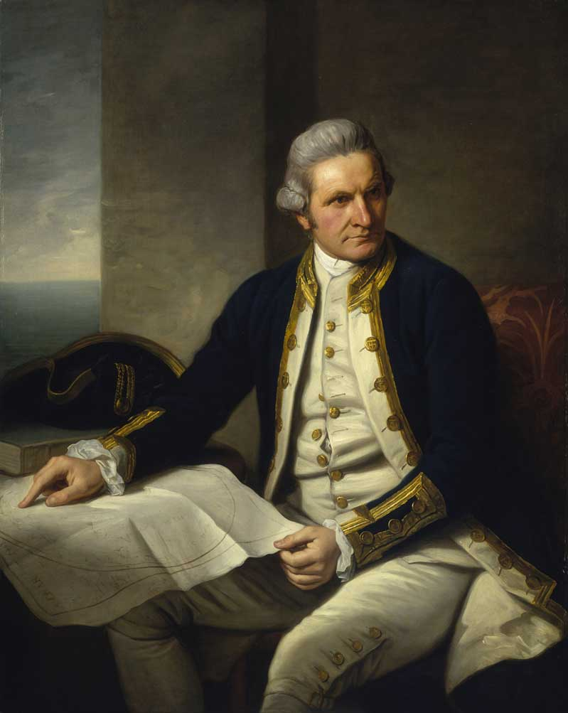 Captain James Cook-by Nathaniel Dance-Holland-1776