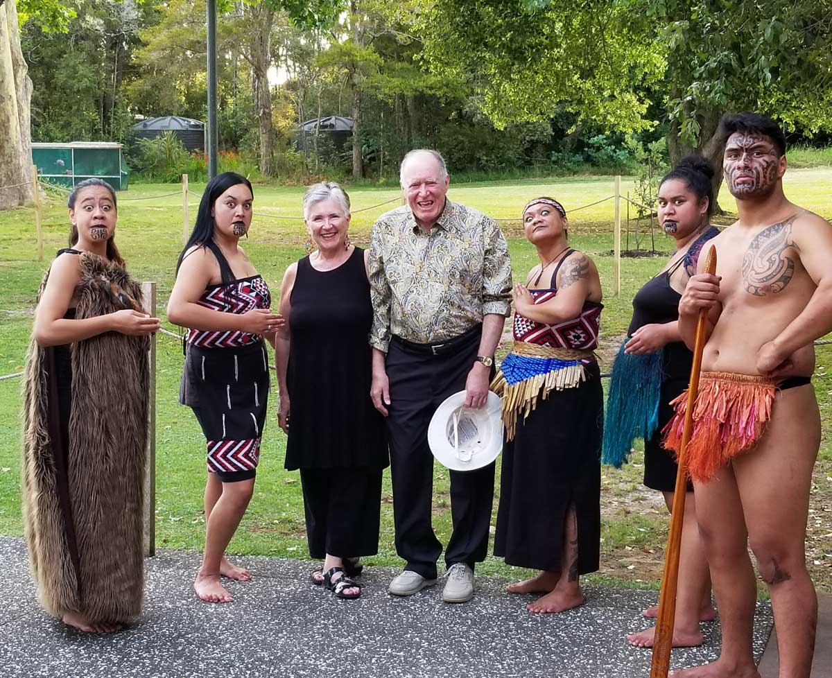 Janet & Doug Davis-Waitangi Treaty Grounds