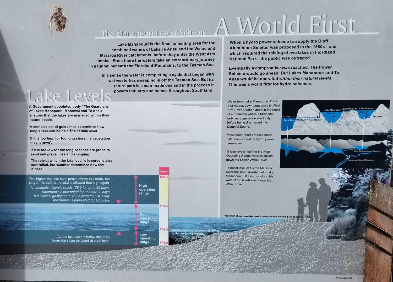 Manapouri Hydro Scheme-hydrology