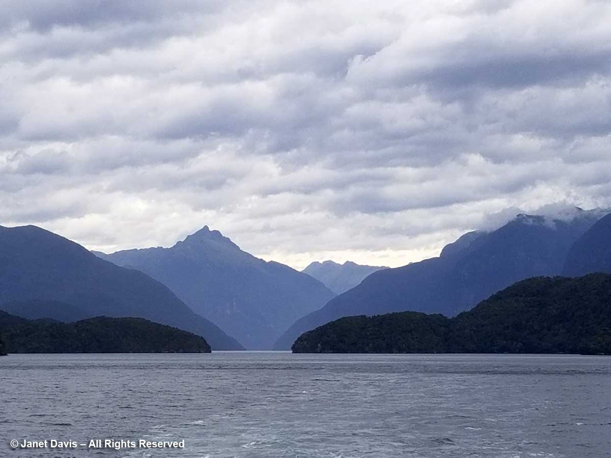 Mount George-Elizabeth Island-Doubtful Sound