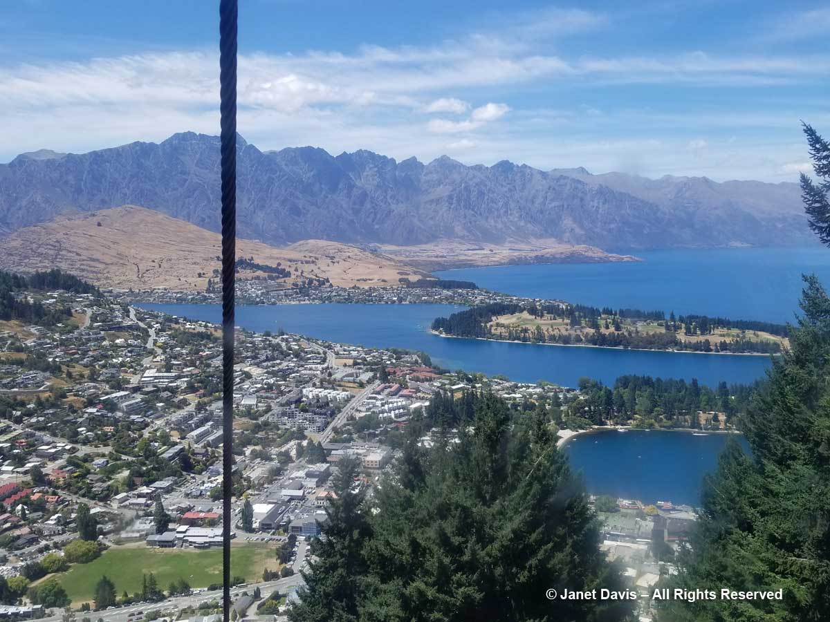 Skyline Gondola-Queenstown view
