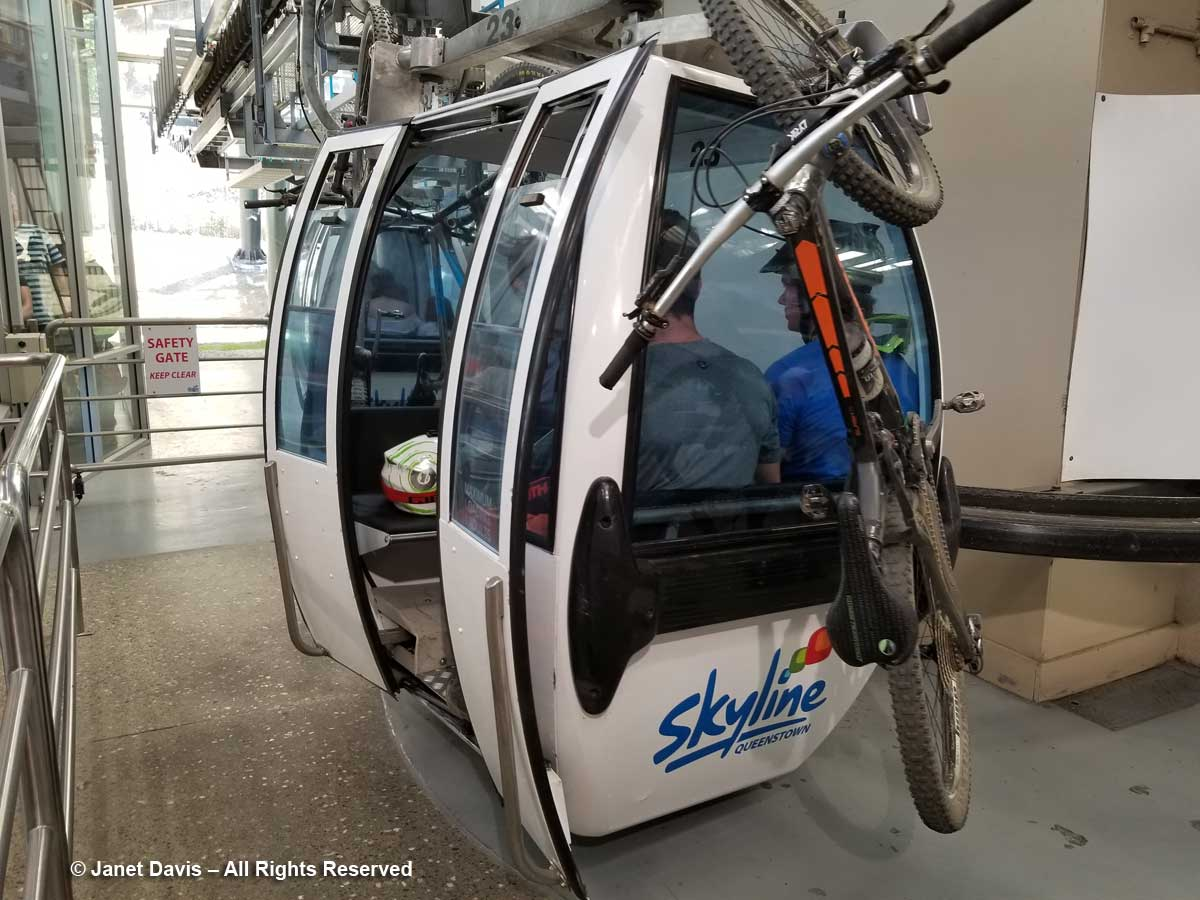 Skyline gondola-Ben Lomond-Queenstown-mountain bikes