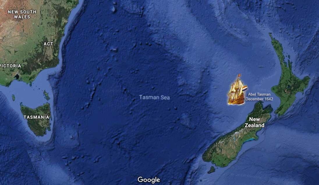 Tasman Sea-Abel Tasman-1642